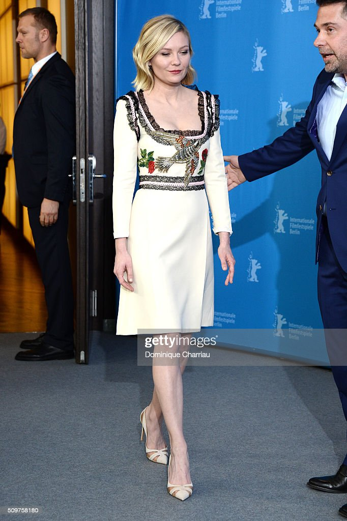 Actress <a gi-track='captionPersonalityLinkClicked' href=/galleries/search?phrase=Kirsten+Dunst&family=editorial&specificpeople=171590 ng-click='$event.stopPropagation()'>Kirsten Dunst</a> attends the 'Midnight Special' photo call during the 66th Berlinale International Film Festival Berlin at Grand Hyatt Hotel on February 12, 2016 in Berlin, Germany.