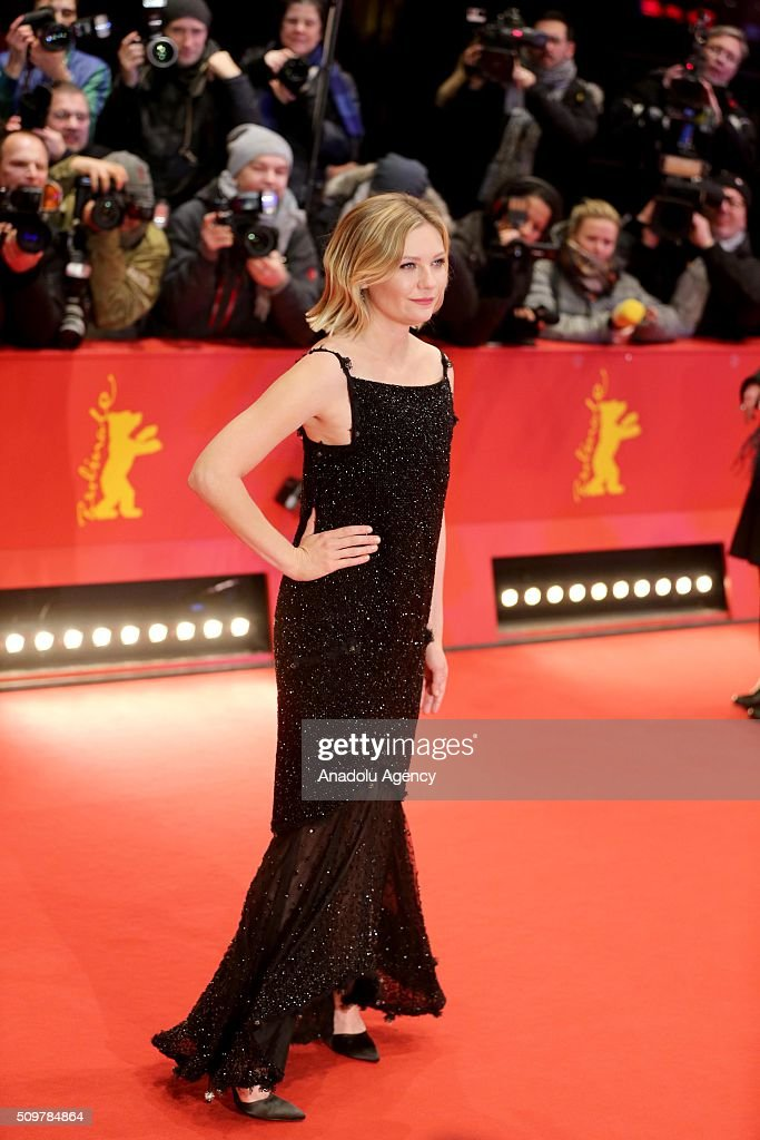 Actress Kirsten Dunst attends the 'Midnight Special' premiere during the 66th Berlinale International Film Festival Berlin at Berlinale Palace on February 12, 2016 in Berlin, Germany.