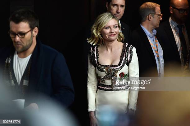 Actress Kirsten Dunst attends the 'Midnight Special' press conference during the 66th Berlinale International Film Festival Berlin at Grand Hyatt...