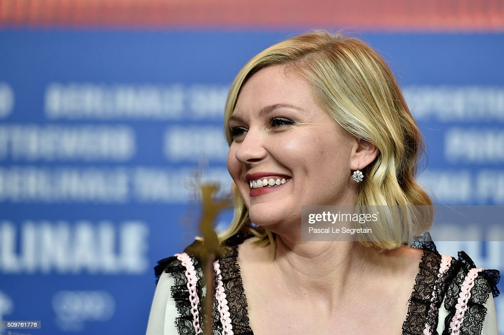 Actress <a gi-track='captionPersonalityLinkClicked' href=/galleries/search?phrase=Kirsten+Dunst&family=editorial&specificpeople=171590 ng-click='$event.stopPropagation()'>Kirsten Dunst</a> attends the 'Midnight Special' press conference during the 66th Berlinale International Film Festival Berlin at Grand Hyatt Hotel on February 12, 2016 in Berlin, Germany.