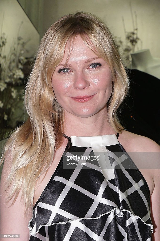 Actress Kirsten Dunst attends the Rodarte Book Launch Party at Curve Boutique on May 4, 2014 in New York City.