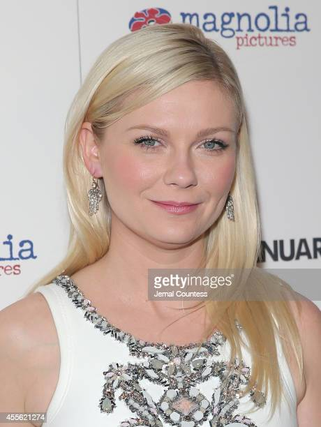 Actress Kirsten Dunst attends the 'The Two Faces Of January' New York Premiere at Landmark's Sunshine Cinema on September 17 2014 in New York City