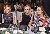 Actress Kirsten Dunst Betsy Beers and actress Olivia Wilde attend ELLE's 6th Annual Women in Television Dinner Presented by Hearts on Fire Diamonds...