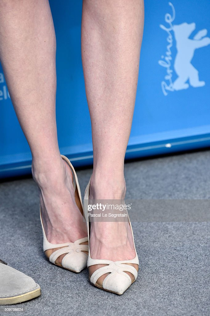 Actress <a gi-track='captionPersonalityLinkClicked' href=/galleries/search?phrase=Kirsten+Dunst&family=editorial&specificpeople=171590 ng-click='$event.stopPropagation()'>Kirsten Dunst</a>, shoe detail, attends the 'Midnight Special' photo call during the 66th Berlinale International Film Festival Berlin at Grand Hyatt Hotel on February 12, 2016 in Berlin, Germany.