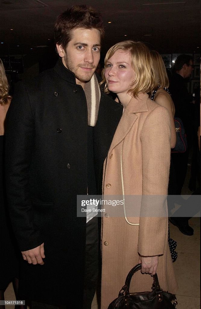 Actress Kirsten Dunst With Boyfriend Jake Gyllenhaal, Sylvia Movie After Party At Mezzo In Wardour Street, London