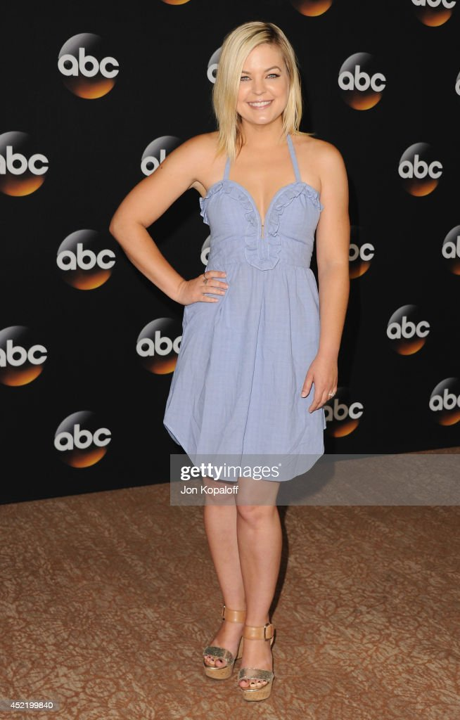 Actress <a gi-track='captionPersonalityLinkClicked' href=/galleries/search?phrase=Kirsten+Storms&family=editorial&specificpeople=228908 ng-click='$event.stopPropagation()'>Kirsten Storms</a> arrives the Disney|ABC Television Group 2014 Television Critics Association Summer Press Tour at The Beverly Hilton Hotel on July 15, 2014 in Beverly Hills, California.