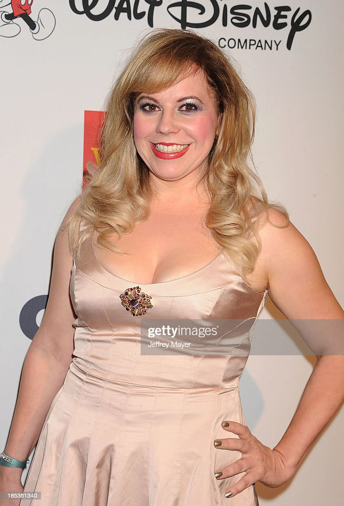 Actress <a gi-track='captionPersonalityLinkClicked' href=/galleries/search?phrase=Kirsten+Vangsness&family=editorial&specificpeople=2097625 ng-click='$event.stopPropagation()'>Kirsten Vangsness</a> attends the 9th Annual GLSEN Respect Awards held at the Beverly Hills Hotel on October 18, 2013 in Beverly Hills, California.