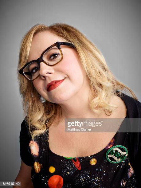 Actress Kirsten Vangsness from 'Criminal Minds' is photographed for Entertainment Weekly Magazine on July 21 2016 at Comic Con in the Hard Rock Hotel...