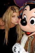 Actress Kirstie Alley and Mickey Mouse arrive at premiere of Walt Disney Pictures' 'Pirates of the Caribbean On Stranger Tides' held at Disneyland on...