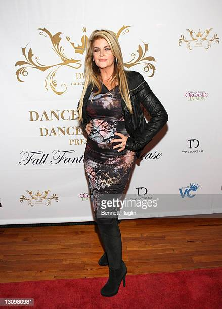 Actress Kirstie Alley attends the Dance with Me Studios' Fall Fantasy showcase at Grand Prospect Hall on October 30 2011 in the Brooklyn borough of...