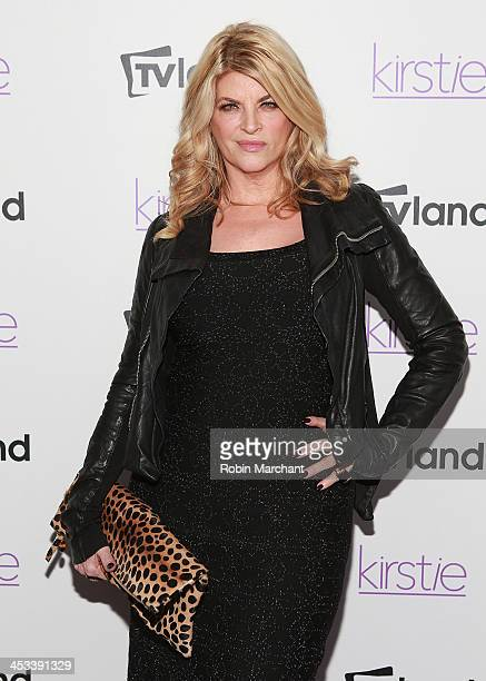 Actress Kirstie Alley attends the 'Kirstie' premiere party at Harlow on December 3 2013 in New York City