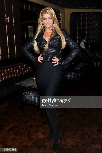 Actress Kirstie Alley attends the Richie Rich Spring 2012 fashion show during MercedesBenz Fashion Week at Lavo on September 13 2011 in New York City