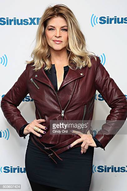 Actress Kirstie Alley visits the SiriusXM Studios on January 6 2016 in New York City