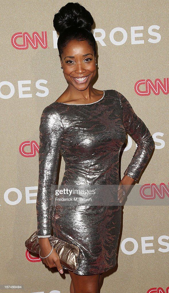 Actress Kita Williams attends the CNN Heroes: An All Star Tribute at The Shrine Auditorium on December 2, 2012 in Los Angeles, California.
