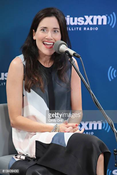 Actress KK Glick participates in SiriusXM's Town Hall with Bravo's Odd Mom Out cast hosted by creator and star Jill Kargman on July 12 2017 in New...