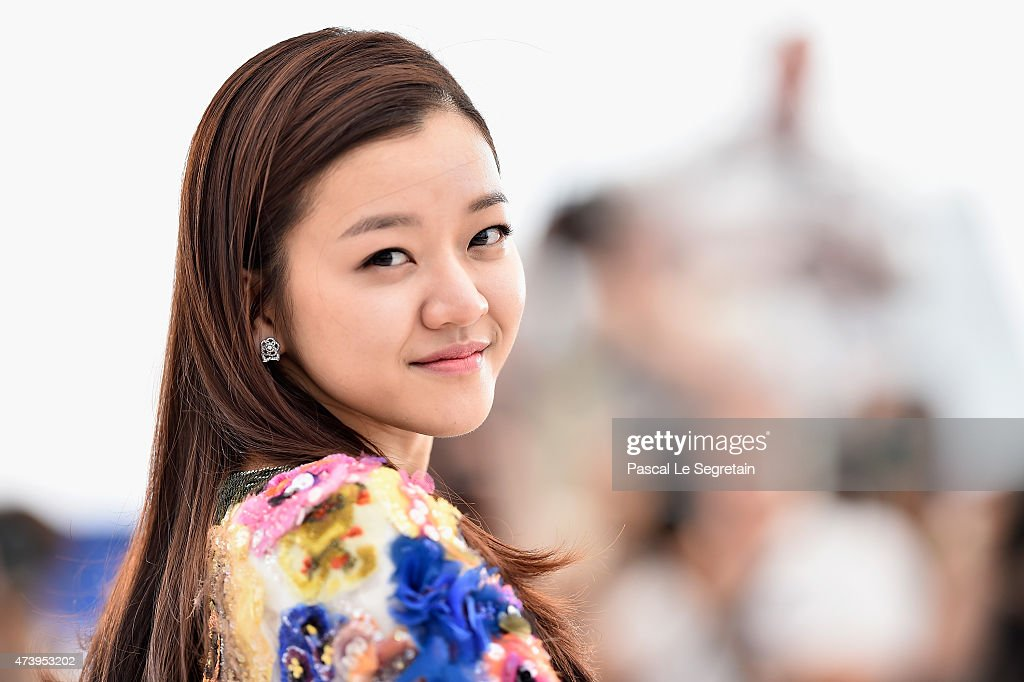 Actress Ko Ah-seong attends a photocall for 'O Piseu' during the 68th annual Cannes Film Festival on May 19, 2015 in Cannes, France.