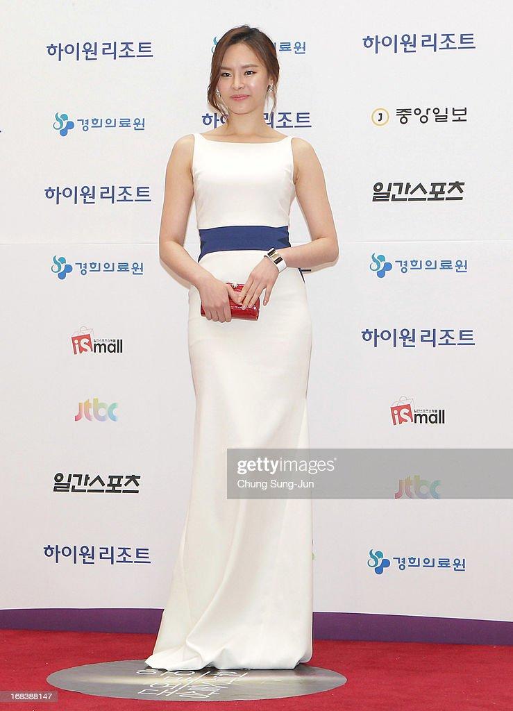 Actress Koo Eun-Ae arrives for the 49th Paeksang Arts Awards on May 9, 2013 in Seoul, South Korea.