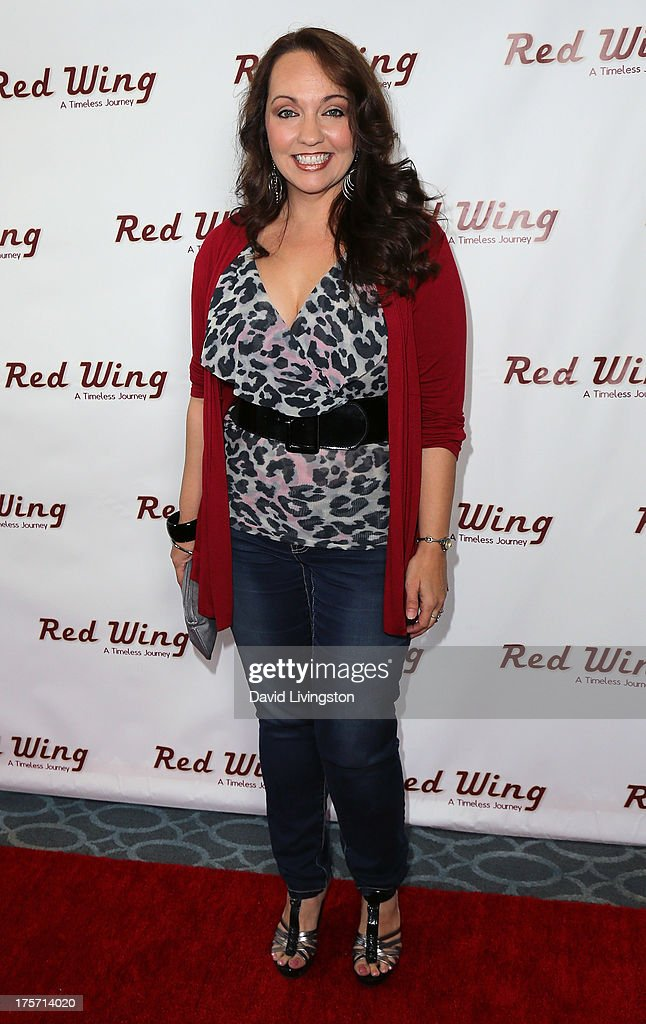Actress Kris Deskins attends a screening of Integrity Film Production's 'Red Wing' at Harmony Gold Theatre on August 6, 2013 in Los Angeles, California.