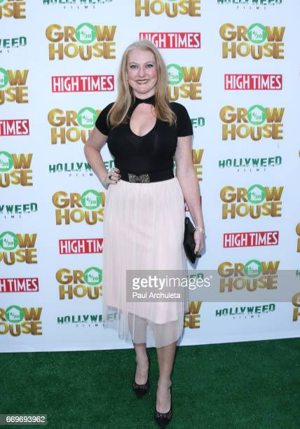 Actress Kris Holmes attends the premiere of 'Grow House' at The Regency Bruin Theatre on April 17 2017 in Los Angeles California