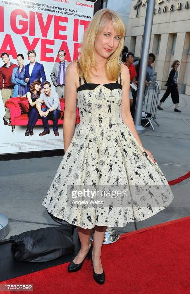 Actress Kris McGaha arrives at the Screening of Magnolia Pictures' 'I Give It A Year' at ArcLight Hollywood on August 1 2013 in Hollywood California