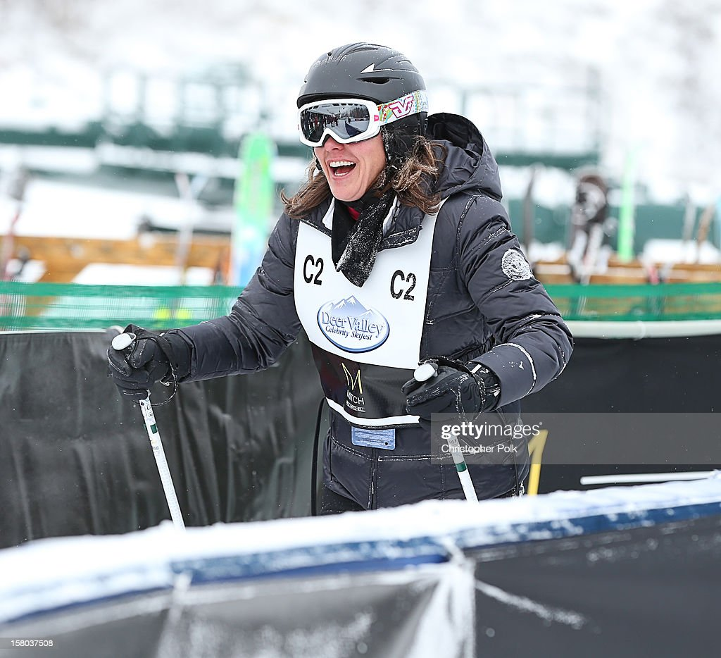 Actress Kris Moore attends the Deer Valley Celebrity Skifest at Deer Valley Resort on December 9, 2012 in Park City, Utah.