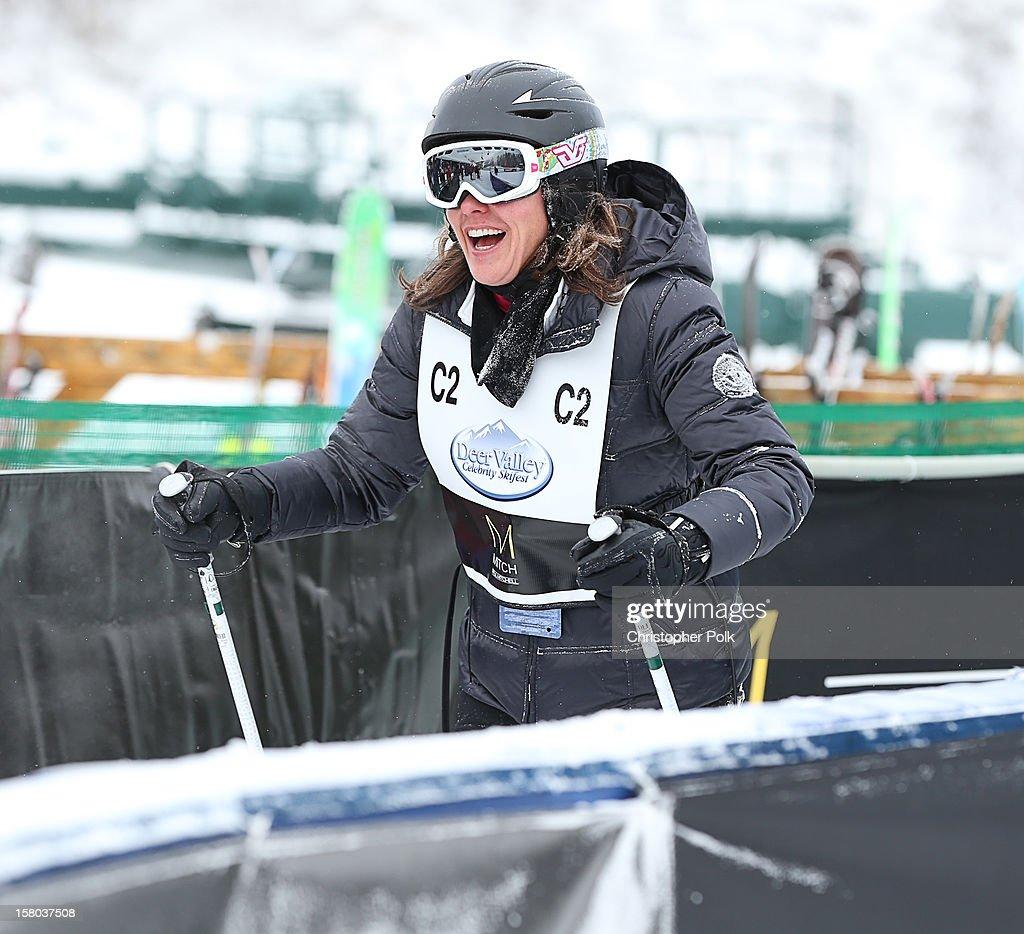 Actress Kris Moore attends the Deer Valley Celebrity Skifest at Deer Valley Resort on December 9, 2012 in Park City, Utah.
