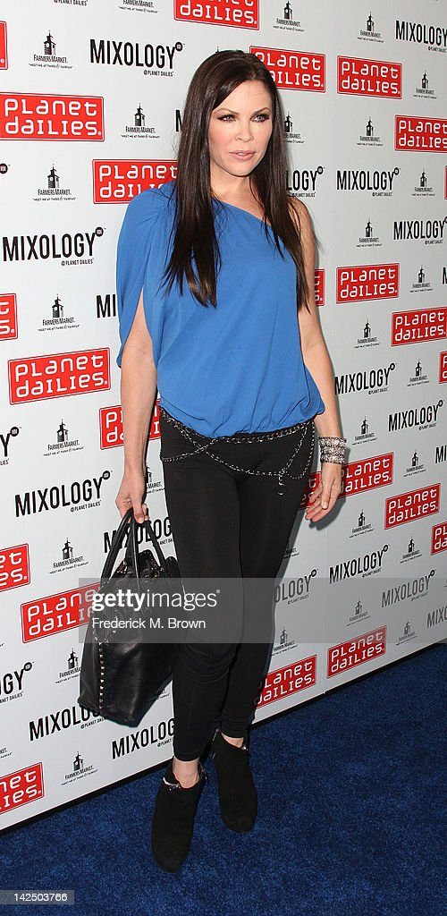 Actress Krista Campbell attends the Grand Opening of Robert Earl's Planet Dailies & Mixology 101 at The Farmer's Market on April 5, 2012 in Los Angeles, California