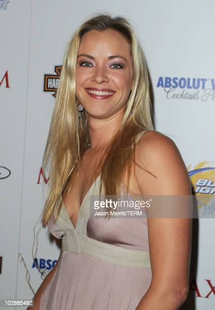 Actress Kristanna Loken arrives at the 11th annual Maxim Hot 100 Party with HarleyDavidson ABSOLUT VODKA Ed Hardy Fragrances and ROGAINE held at...
