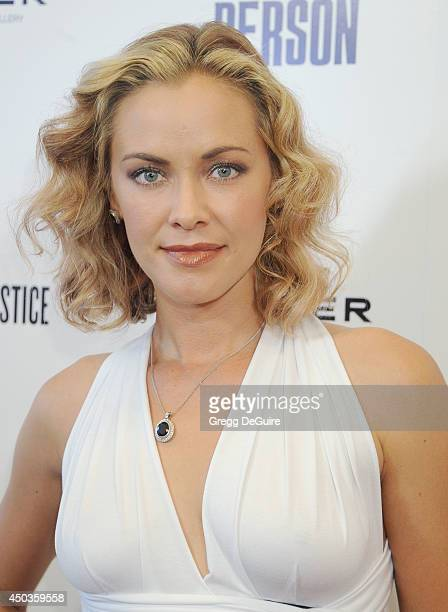 Actress Kristanna Loken arrives at the Los Angeles premiere of 'Third Person' at Pickford Center for Motion Study on June 9 2014 in Hollywood...