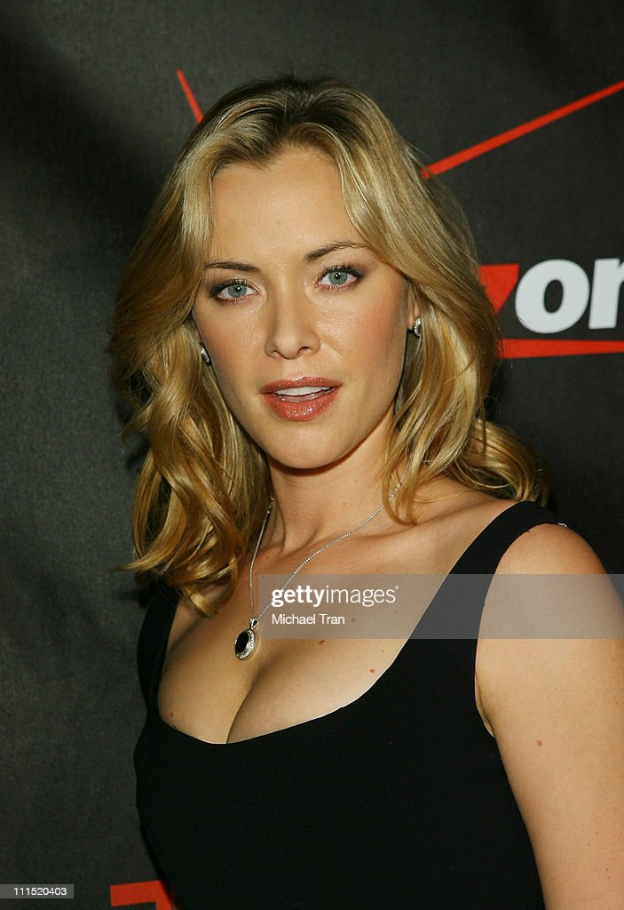 Actress Kristanna Loken arrives at the Los Angeles screening of 'Terminator The Sarah Connor Chronicles' held at Arclight Cinerama Dome Theatre on...
