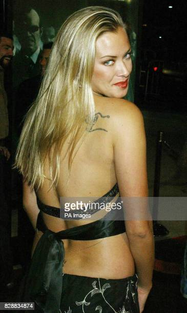 Actress Kristanna Loken arrives for the world premiere of the final instalment of the Matrix triology 'Matrix Revolutions' at the Disney Concert Hall...