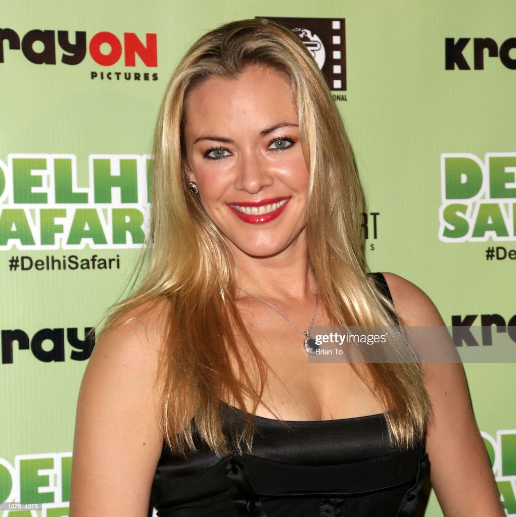 Actress Kristanna Loken attends 'Delhi Safari' - Los Angeles premiere at Pacific Theatre at The Grove on December 3, 2012 in Los Angeles, California.