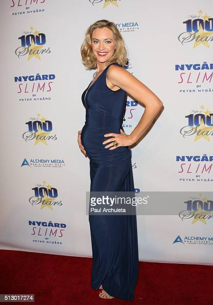 Actress Kristanna Loken attends the 26th annual Night Of 100 Stars Oscar viewing party at The Beverly Hilton Hotel on February 28 2016 in Beverly...