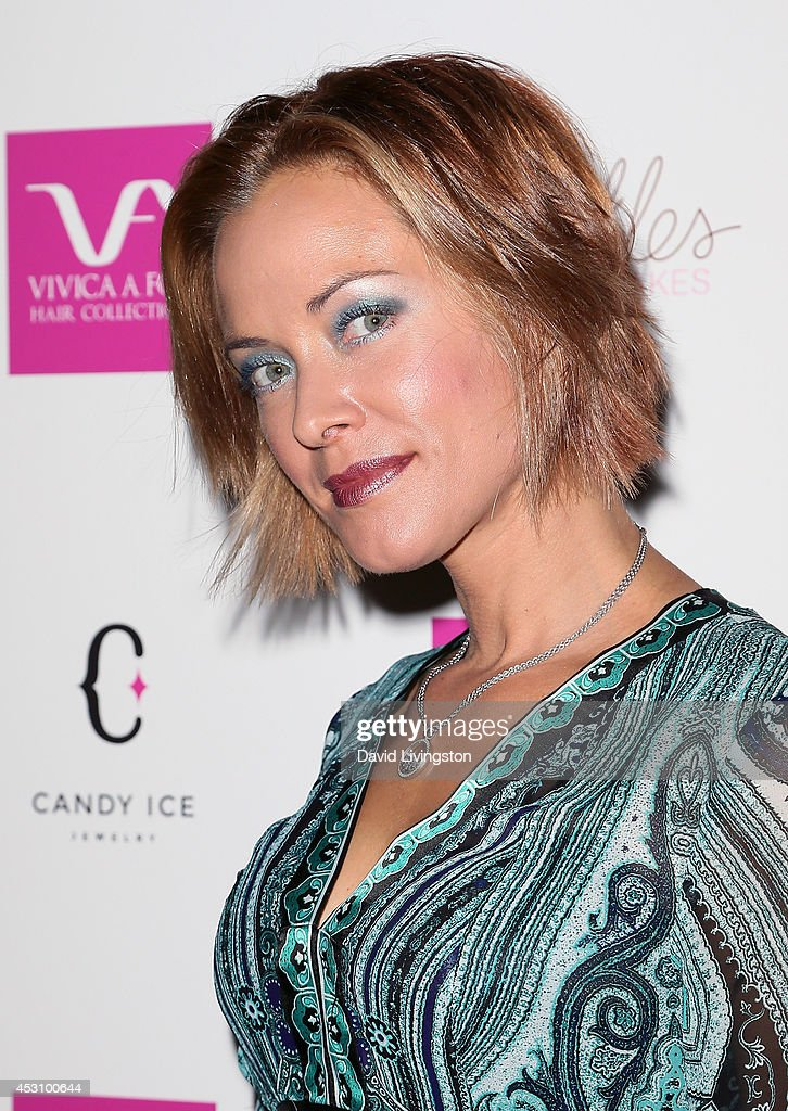 Actress <a gi-track='captionPersonalityLinkClicked' href=/galleries/search?phrase=Kristanna+Loken&family=editorial&specificpeople=218127 ng-click='$event.stopPropagation()'>Kristanna Loken</a> attends the Vivica A. Fox 50th birthday celebration at Philippe Chow on August 2, 2014 in Beverly Hills, California.