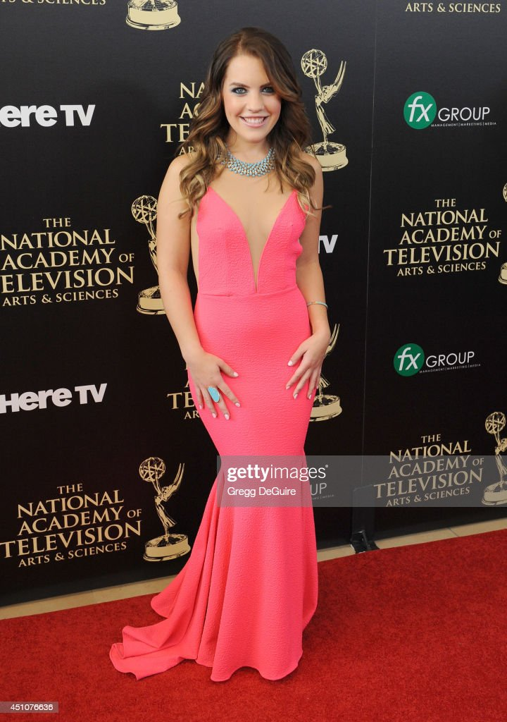Actress Kristen Alderson arrives at the 41st Annual Daytime Emmy Awards at The Beverly Hilton Hotel on June 22, 2014 in Beverly Hills, California.