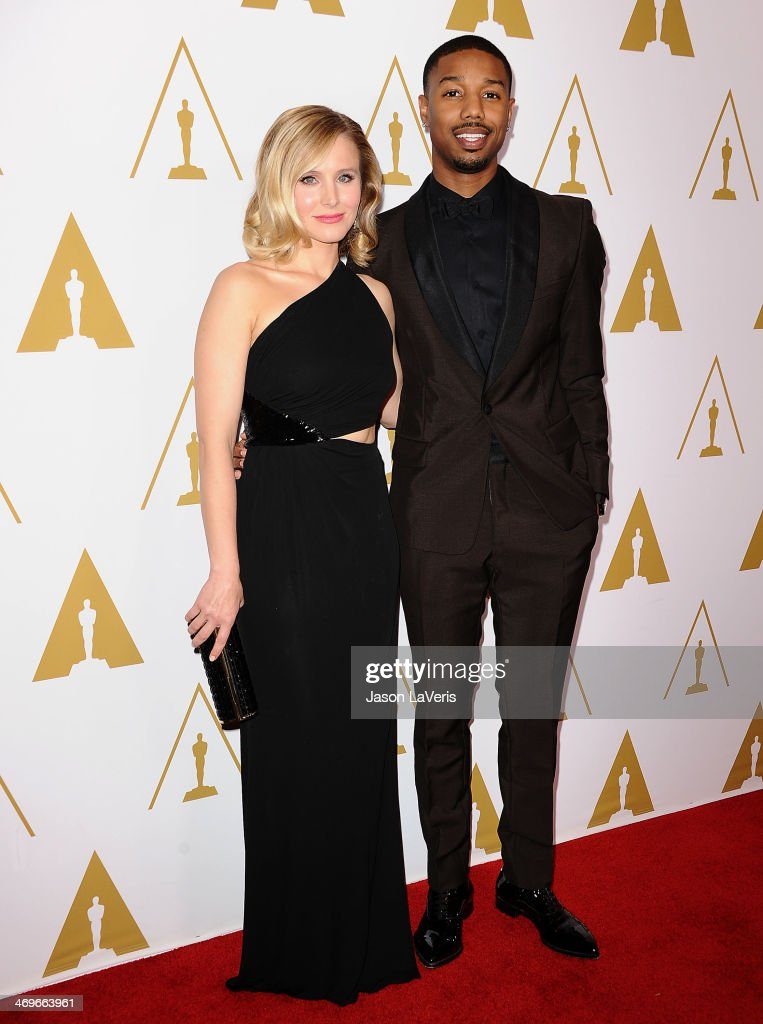 Actress Kristen Bell and actor Michael B. Jordan attend the Academy of Motion Picture Arts and Sciences' Scientific and Technical Awards ceremony at Beverly Hills Hotel on February 15, 2014 in Beverly Hills, California.