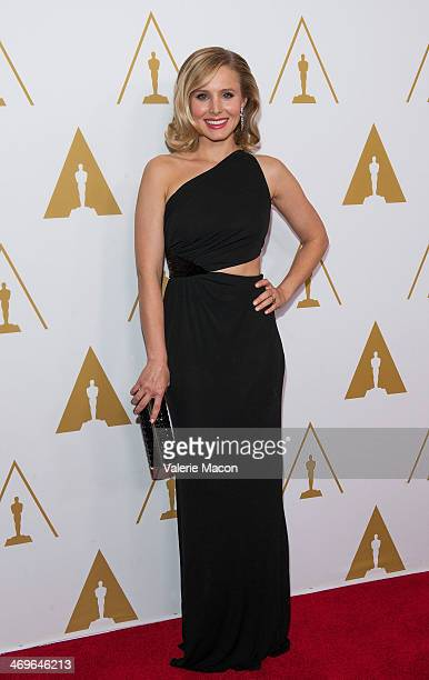 Actress Kristen Bell arrives at the Academy Of Motion Picture Arts And Sciences' Scientific And Technical Awards Ceremony at Beverly Hills Hotel on...