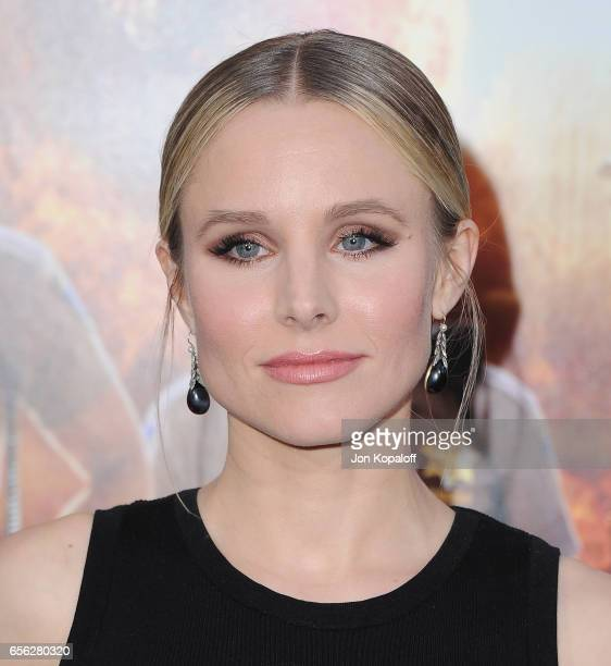Actress Kristen Bell arrives at the Los Angeles Premiere 'CHIPS' at TCL Chinese Theatre on March 20 2017 in Hollywood California