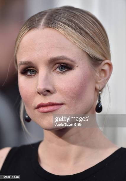Actress Kristen Bell arrives at the premiere of Warner Bros Pictures' 'CHIPS' at TCL Chinese Theatre on March 20 2017 in Hollywood California