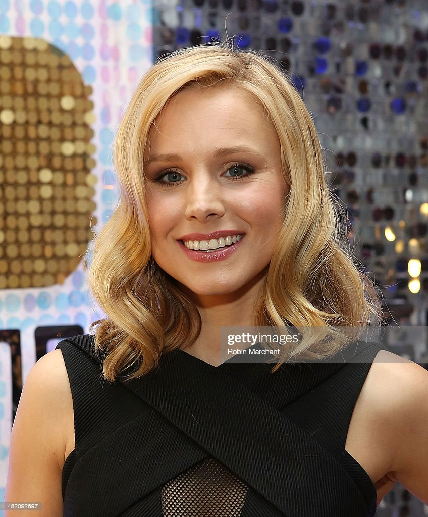 Actress Kristen Bell attends American Express #EveryDayMoments at Home Studios on April 2, 2014 in New York City.