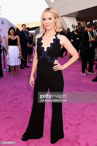 Actress Kristen Bell attends the 2016 Billboard Music Awards at TMobile Arena on May 22 2016 in Las Vegas Nevada