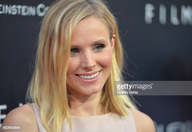 Actress Kristen Bell attends the 2nd annual Lexus Short Films 'Life Is Amazing' presented by The Weinstein Company and Lexus at LA Live on July 30...