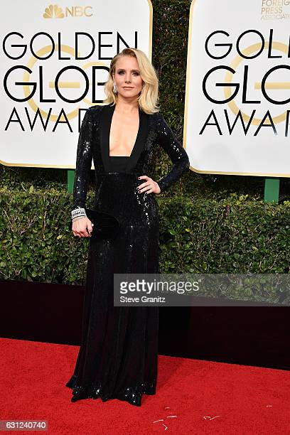 Actress Kristen Bell attends the 74th Annual Golden Globe Awards at The Beverly Hilton Hotel on January 8 2017 in Beverly Hills California