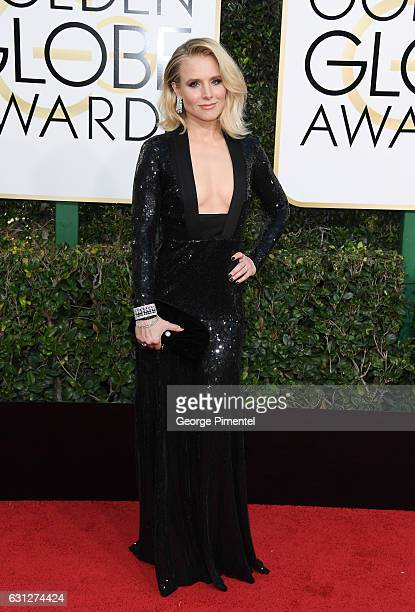 Actress Kristen Bell attends the 74th Annual Golden Globe Awards held at The Beverly Hilton Hotel on January 8 2017 in Beverly Hills California