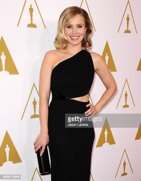 Actress Kristen Bell attends the Academy of Motion Picture Arts and Sciences' Scientific and Technical Awards ceremony at Beverly Hills Hotel on...