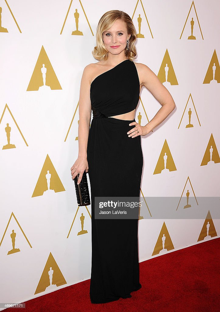 Actress Kristen Bell attends the Academy of Motion Picture Arts and Sciences' Scientific and Technical Awards ceremony at Beverly Hills Hotel on February 15, 2014 in Beverly Hills, California.