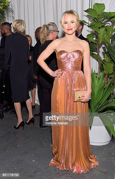 Actress Kristen Bell attends The Art of Elysium presents Stevie Wonder's HEAVEN Celebrating the 10th Anniversary at Red Studios on January 7 2017 in...