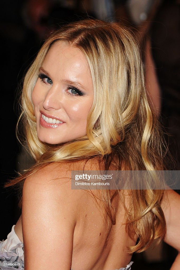 Actress Kristen Bell attends the Costume Institute Gala Benefit to celebrate the opening of the 'American Woman: Fashioning a National Identity' exhibition at The Metropolitan Museum of Art on May 3, 2010 in New York City.