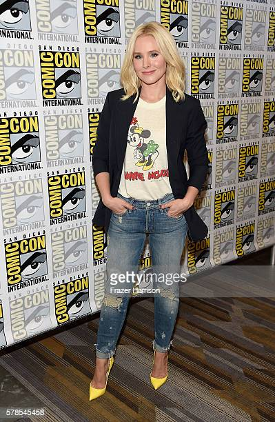 Actress Kristen Bell attends 'The Good Place' press line at Hilton Bayfront on July 21 2016 in San Diego California