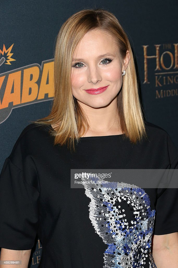 Actress Kristen Bell attends 'The Hobbit: The Desolation of Smaug' Expansion Pack Mobile Game Launch at Eveleigh on December 11, 2013 in West Hollywood, California.